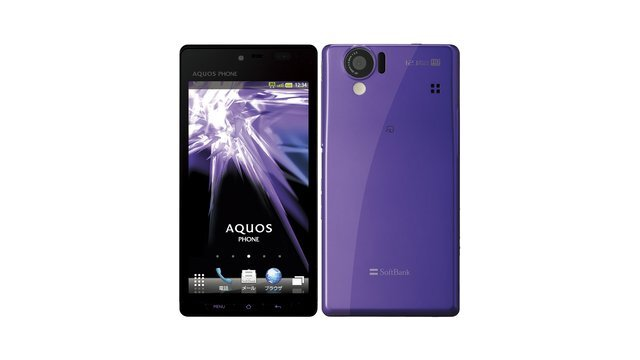 SoftBank AQUOS PHONE 102SH