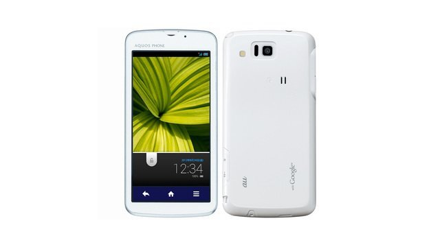 au AQUOS PHONE CL IS17SH