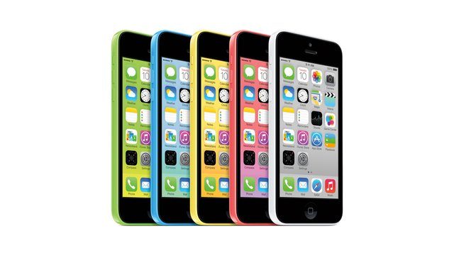 SIMフリー iPhone 5c