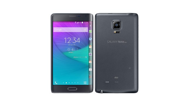 au GALAXY Note Edge SCL24