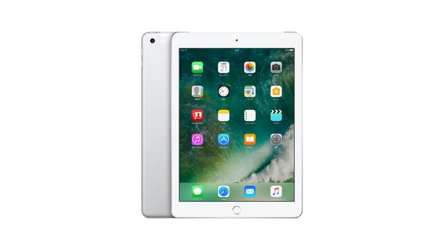 docomo iPad Wi-Fi+Cellular 2017年春モデル(第5世代)