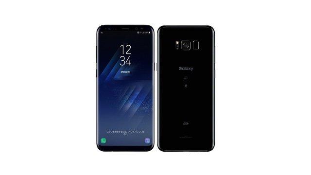 au Galaxy S8+ SCV35