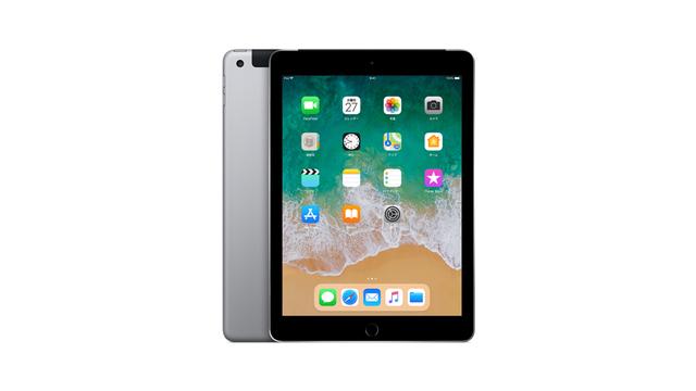 SIMフリー iPad 9.7インチ Wi-Fi+Cellular 2018年春モデル(第6世代)