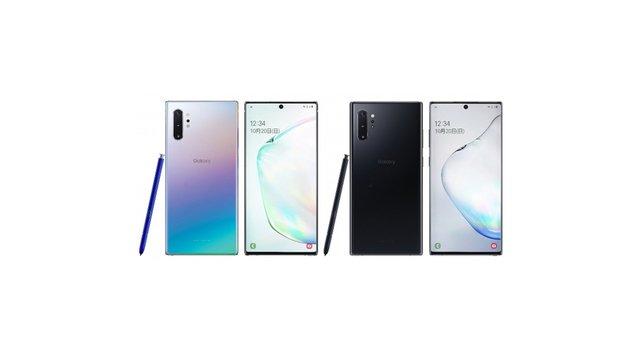 au Galaxy Note10+ SCV45