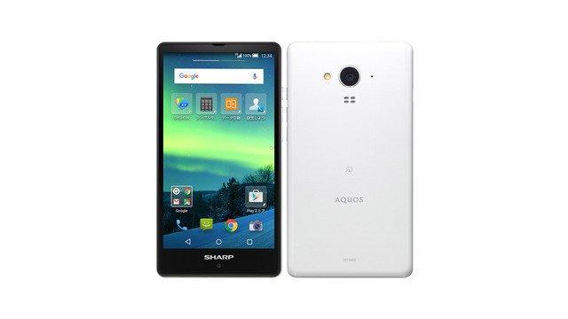 SIMフリー AQUOS SH-M02 g04