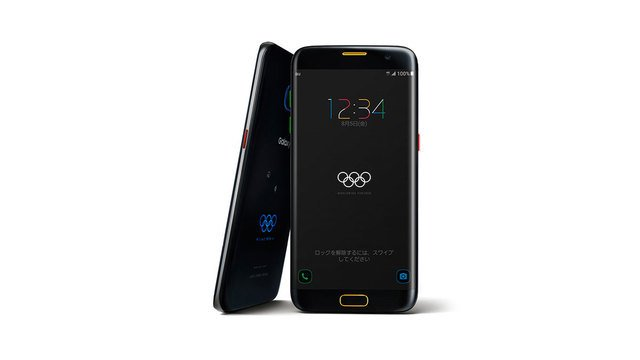 au Galaxy S7 edge SCV33 Olympic Games Edition