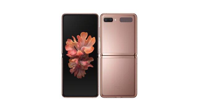 au Galaxy Z Flip 5G SCG04